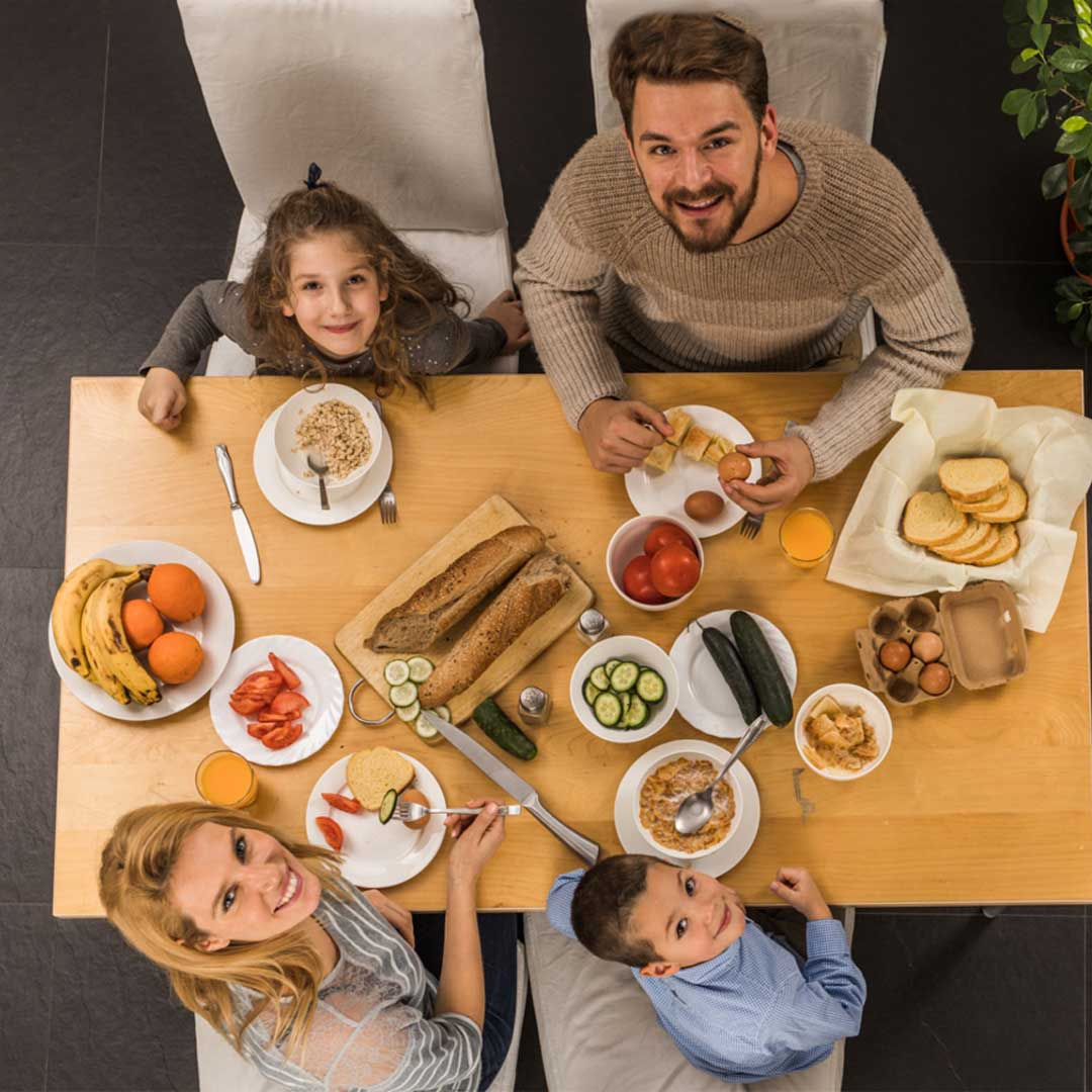 Комплексное питание в хостеле